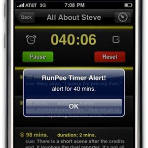 runpee  Timed Offline Alerts with RunPee Movie App Update