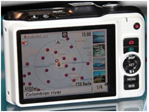 Casio-EX-10HG-back Casio hybrid GPS camera prototype with triple-axis accelerometer