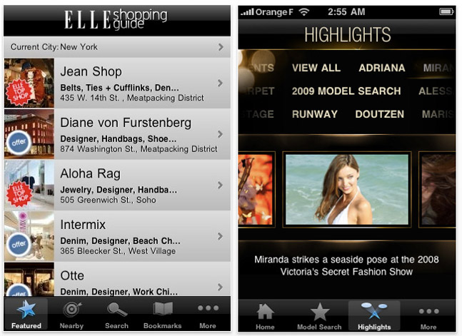fashion-app-screenshot3 iPhone turned fashion assistant, great apps for every style