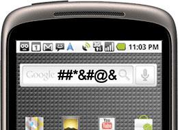 google1 Earmuffs: Google censors Nexus One speech-to-text engine