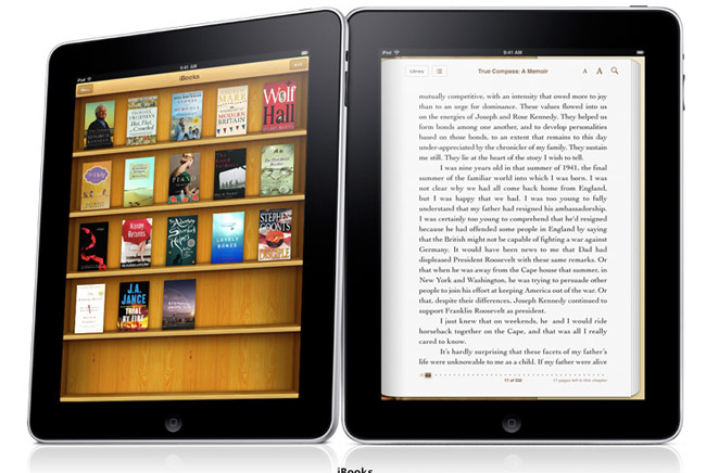 ipad-ibooks Official: Apple iPad is the new Apple tablet