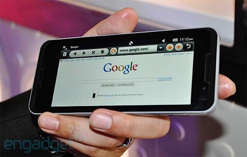 lg-gw990-google LG GW990 best choice for mobile multitasking