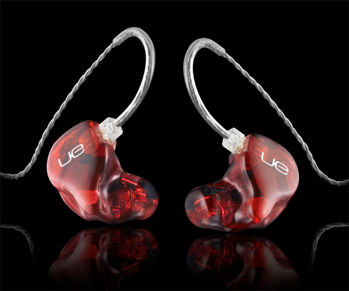 ultimate-ears Ultimate Ears six-speaker custom monitors fit in your ear, made for rock stars