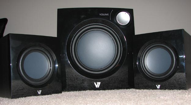 v7speakers-1 REVIEW - V7 A321P 2.1 Multimedia Speaker System