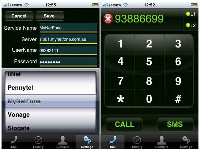 vphone-screenshot02 V Phone VoIP app for iPhone cuts LD to International destinations