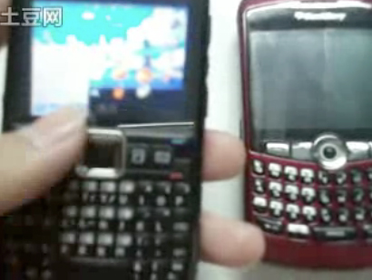 blackberry-nokia-1 Video: Nokia E71 smartphone running BlackBerry operating system