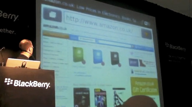 blackberry-webkit Video shows BlackBerry WebKit-based browser at MWC