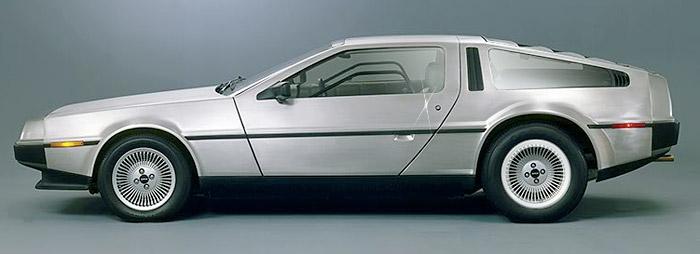 delorean-dmc12 Jay Leno rides new DeLorean back to the future
