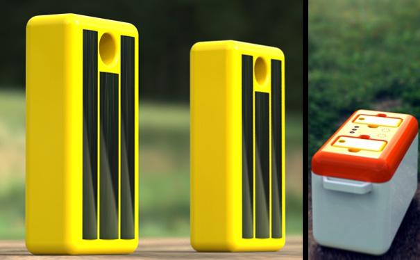 ecofreezer4 Concept freezer uses solar power to keep the Coronas cool