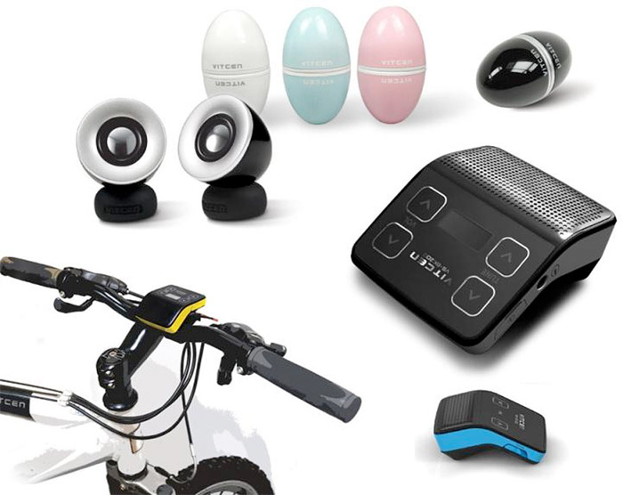 egg-speakers Eggy and Bike Speaker: New portable mobile sound products coming to CEBIT