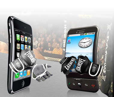 iphone_vs_android_ufc Google Android overtaking smartphone world, surpassing iPhone?