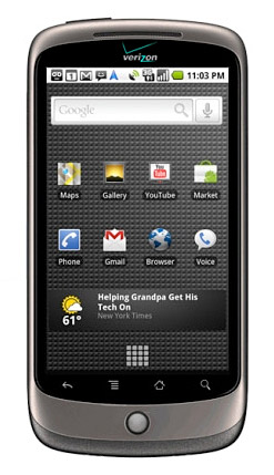 nexus-one-vzw Google Nexus One phone headed to Verizon March 23rd?