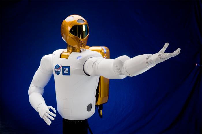robonaut2-r2-01 GM and Nasa build the Robonaut 2 humanoid robot