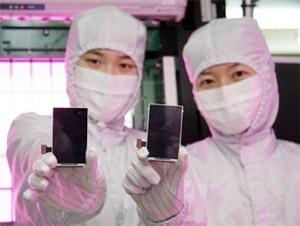samsung-super-amoled iPhone 2010 to have Samsung Super AMOLED, forward facing camera?