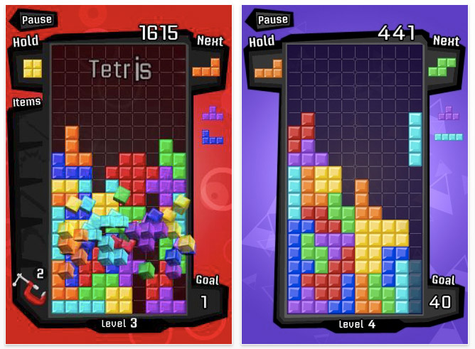 "tetris-screen-1 Tetris with ""Magic Mode"" for the iPhone and iPod Touch reviewed"