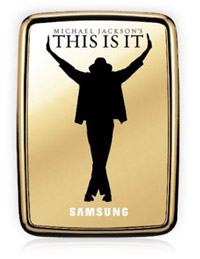 thisisit Michael Jackson's THIS IS IT loaded on Samsung S2 external harddrives