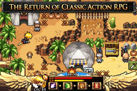 zenonia.1 REVIEW: Zenonia RPG game for iPhone