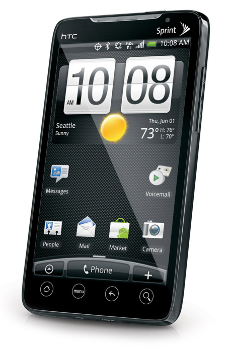 HTC-EVO-GL-700 HTC EVO 4G, the World's first 3G/4G Android handset coming to Sprint