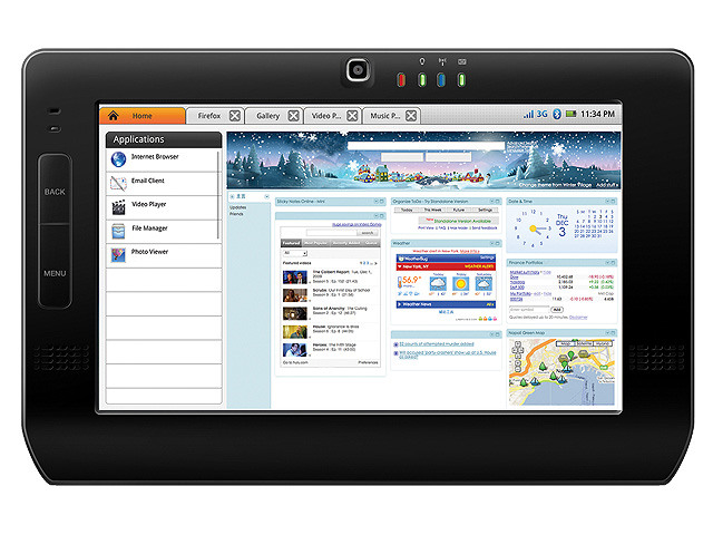 "TABLET_RDSMARTBOOK Freescale tablet reference design ""smartbook"" supports 3 OSes"