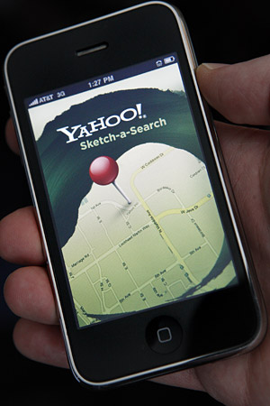 Yahoo-sketch-a-search Yahoo! Sketch-a-Search for iPhone finds you good eats