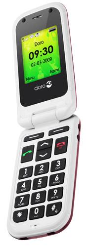 doro-phoneeasy410  Swedish Doro phone designed with seniors in mind