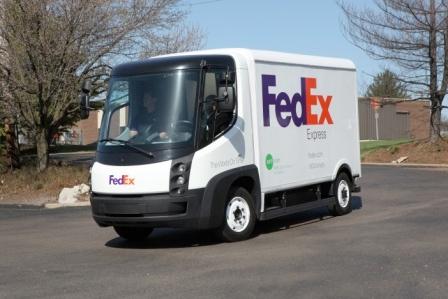 fedex.green_ FedEx to trial four new EV trucks in LA