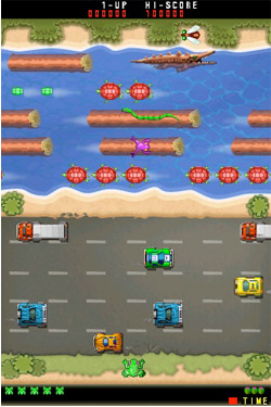 frogger-game Win a bunch of Konami swag