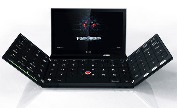 iWeb2_2 Transformer keyboard concept gives laptops the full QWERTY