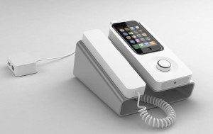 iphone-desk-phone-3-300x189 iPhone dock brings you back 25 years, long live the corded desk phone
