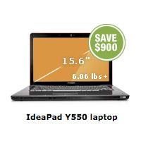 lenovo-yp550.200 Save $900 on Lenovo IdeaPad Y550 laptop