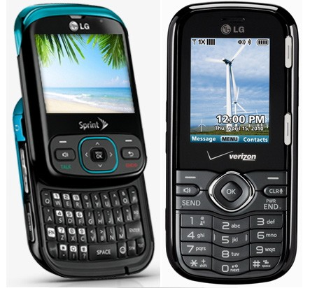 lg-remarq-cosmos Verizon and Sprint get new affordable LG QWERTY messaging phones