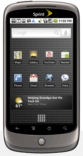 nexus-one-sprint Google Nexus One headed to Sprint