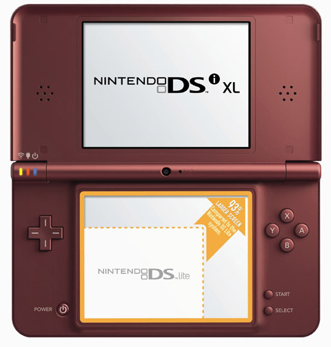 nintendo-dsixl Nintendo DSi XL goes big in North America on March 28