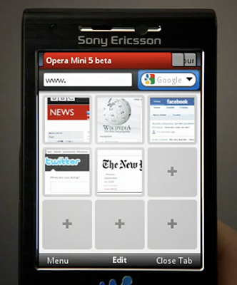 opera-mini-5-screen Opera Mini 5 beta out for Windows Mobile 5/6 smartphones, no more java