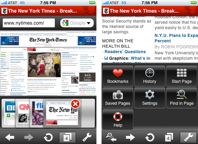 opera-mini-700 Opera Mini for iPhone is a huge improvement over Safari