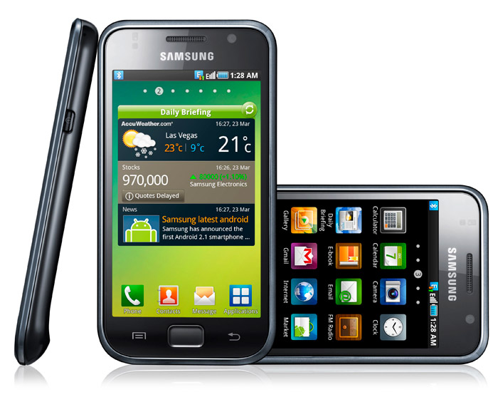 samsung-galaxy-s Samsung's Galaxy S Android smartphone launched: plays HD 720p