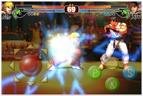 streetfighteriv-01 iPhone App Store fires up with Street Fighter IV