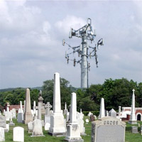 tower-cemetery Vancouver area graveyard getting a Rogers cell tower?
