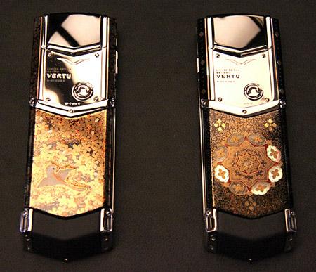 verut.450 $200,000+ Vertu signature phones represent the 'four seasons'