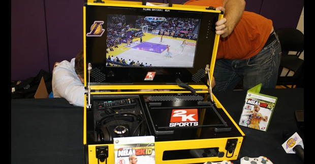xbox-360-portable Super rugged Xbox 360 consoles for NBA's road warriors