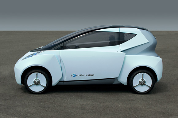 Nissan-Land-Glider-Concept-4 Electric Nissan Land Glider represents future of urban transportation?