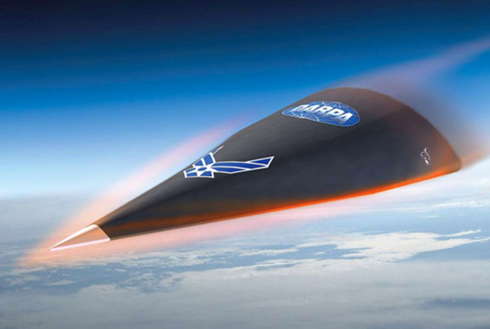darpa-falcon-htv2 Hypersonic Air Force Glider traveling mach 20 disappears in test flight