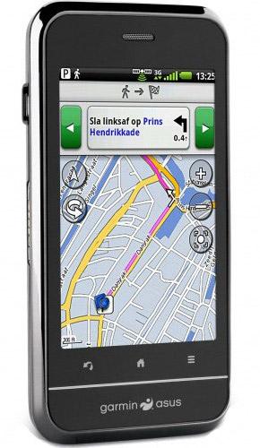 garmin-asus-a10 Garmin-Asus A10 touchscreen smartphone runs Android