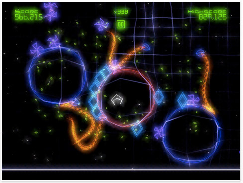geowars-ipad-01 Geometry Wars to rule them all