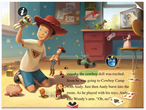 ipad-app-toystory2 43 iPad apps that will rock your accelerometers off