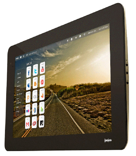 joojoo-tablet Fusion Garage launches JooJoo tablet in Canada and Europe