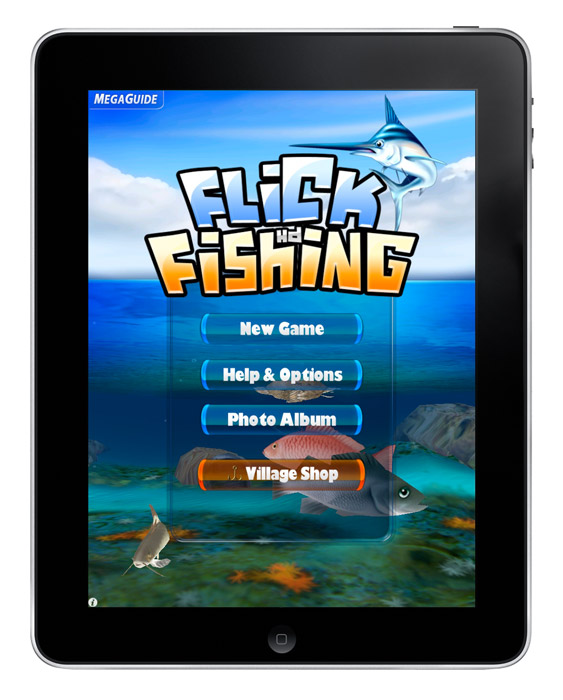 ngmoco-flickfishing Gaming to soar for the iPad: ngmoco releases seven titles