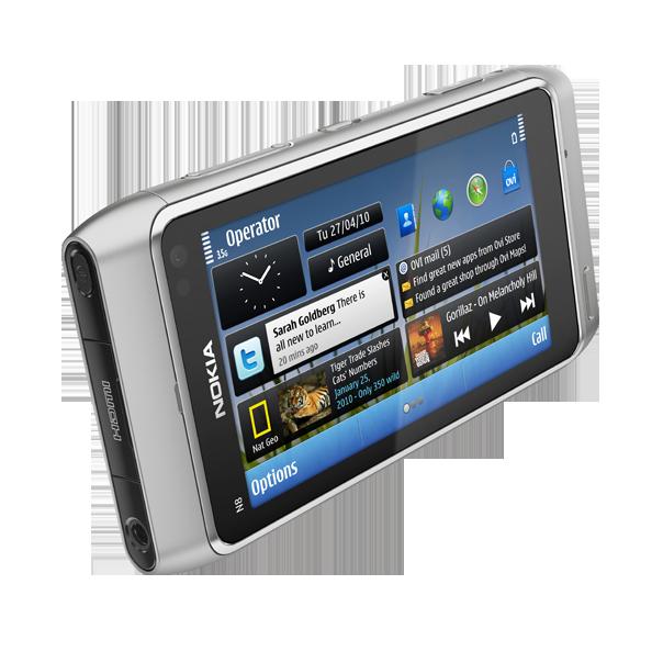 nokia_n8_shot_E_silver_604x604 Nokia N8 smartphone boasts 12MP camera, HD video