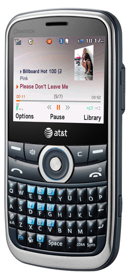 pantech-link  AT&T launches Pantech Link QWERTY phone for ten bucks