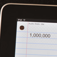 1m-ipads  One million Apple iPads sold in just 28 days